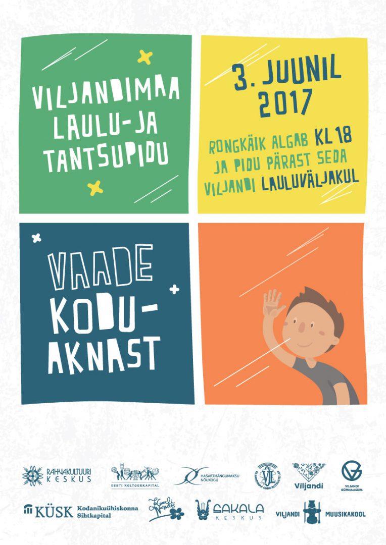 Viljandimaa laulu- ja tantsupidu 2017