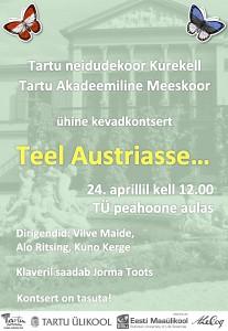 Kevadkontsert - Teel Austriasse